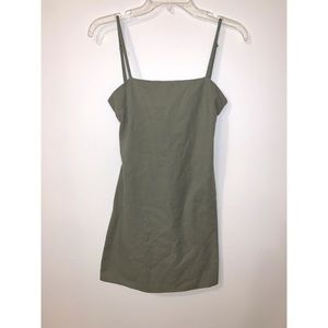 INTO - Olive Green - Women's - Size 8 dress